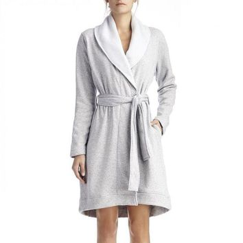 CREY1O Blanche Fleece Lined Robe