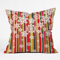 Aimee St Hill Flakes Throw Pillow
