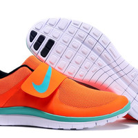 """NIKE"" Trending Orange Fashion Casual Running Sports Shoes"