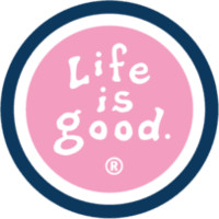 Pink Life is good Magnet| Positive Car Magnets | Life is good