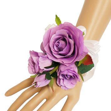 Wrist Corsage(XL0003)-Keepsake nice quality artificial flowers