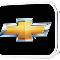 Chevrolet Bowtie Belt Buckle-Chevy Mall