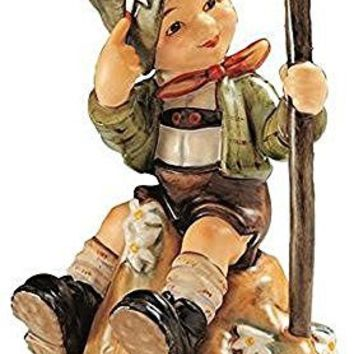 Hummel figurine mountaineer, original MI Hummel Collection, gift-boxed