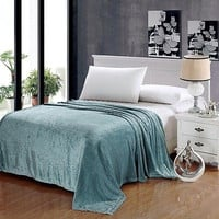 Cozy Home Premium Pinstripe Collection Ultra Plush Blanket