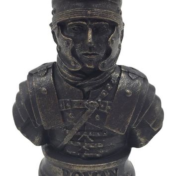 Roman Military Soldier Bust Miniature 2.5H