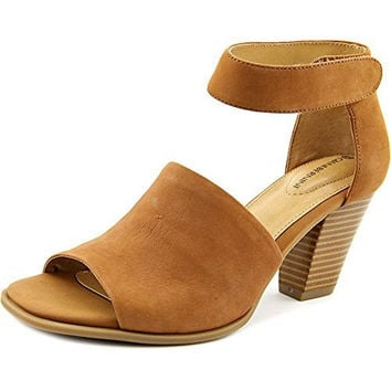 Giani Bernini Virra Women Open Toe Leather Tan Sandals