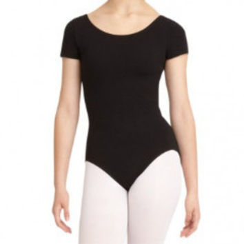 Capezio CC400 Classics Short Sleeve Leotard - Adult