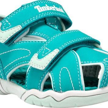 Timberland Kids' Adventure Seeker Closed Toe Sandal Teal Blue Toddler (1-4 Years) 10 M