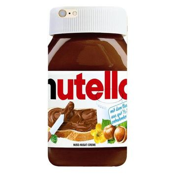 Nutella Jar Phone Case