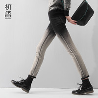 Toyouth New Fashion Spring Autumn 2016 Plus Size Water Wash Hemming Capris Casual Skinny Jeans Women Denim Pencil Pants
