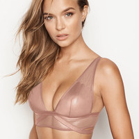 Mesh & Shine Plunge Bralette - The Bralette Collection - Victoria's Secret