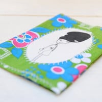 Amy winehouse fabric passport cover by Kimuka on Etsy