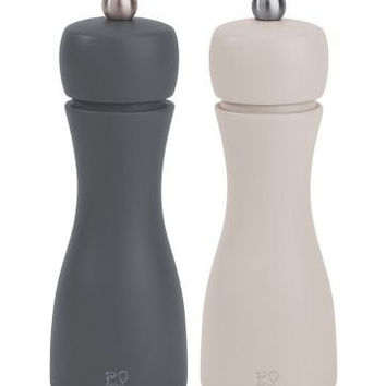 Peugeot Tahiti Winter Salt and Pepper Mill Set 15cm/6-Inch Gray