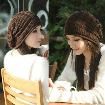Women Skullies Knitted Touca Hat 0918-99