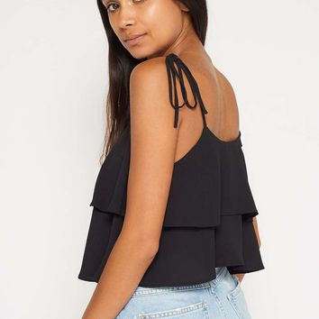 PETITE Double Ruffle Camisole Top - View All - Apparel