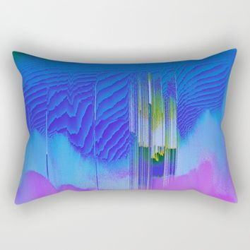 Waterfall Rectangular Pillow by Ducky B