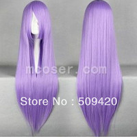 Free Shipping>>>2013 New Saint Seiya Athena Long Light Purple Cosplay Straight Wig-in Wigs from Beauty & Health on Aliexpress.com