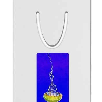 Solo Jellyfish Watercolor Aluminum Paper Clip Bookmark