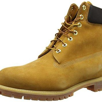 "Timberland Men's 6"" Premium Waterproof Boot  timberland boots for men"