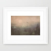 Does It ever  Framed Art Print by Faded  Photos
