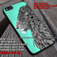Lion Art iPhone 6s 6 6s+ 6plus Cases Samsung Galaxy s5 s6 Edge+ NOTE 5 4 3 #art ii