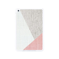 Geometric Pink Style Wood iPad Mini 2 and iPad Mini Case