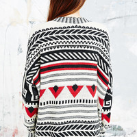 BDG Square Cut Triangle Cardigan - Urban Outfitters