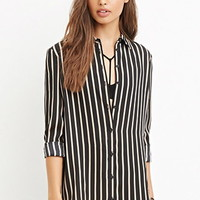 Drapey Striped Shirt