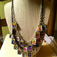 Theater / Drama Show Charm - Playbill  - Broadway Charm Necklace YOUR CHOICE