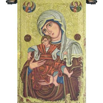 Madonna Delle Vittorie Tapestry Wall Art Hanging