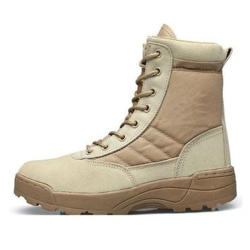 Breathable Tactical Mountaineering Boots