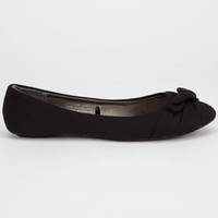 Charles Albert Lauren Womens Flats Black  In Sizes