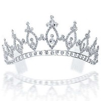Bling Jewelry Royal Title Tiara