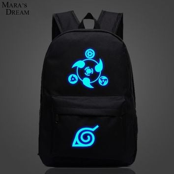 Galaxy Luminous Printing Backpack Pokemon Gengar Backpacks School Bags For Teenager Girls Mochila Feminina