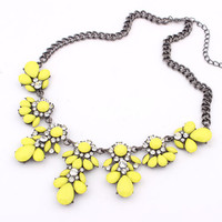Jewelry Stylish Shiny New Arrival Gift Crystal Metal Summer Necklace [6586422855]