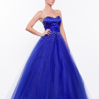 PRIMA Glitz GZ1412 Long to Short Convertible Prom Dress