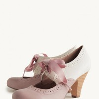 Sylvia Lace-Up Pumps By Chelsea Crew