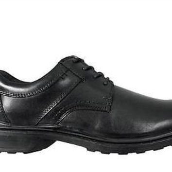 Hush Puppies Mens Shoes Claxton Black Leather H102400