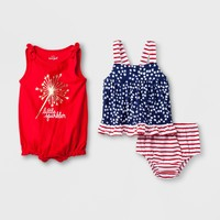 Baby Girls' Romper - Cat & Jack™ Red