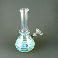 12044 Clear Glass with fumed base New item - Glass Water pipes