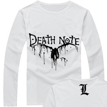 Light Yagami - Death Note Anime Raglan T-Shirt