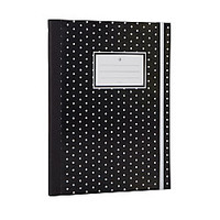 See Jane Work Business Notebook College Ruled 80 Pages Black Dot by Office Depot & OfficeMax