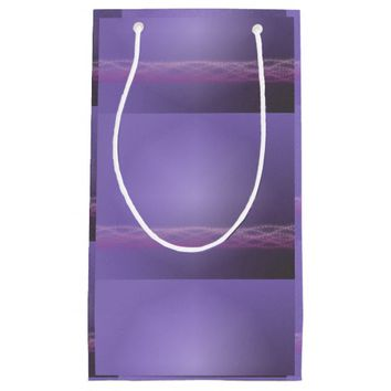 Purple Lights Small Gift Bag