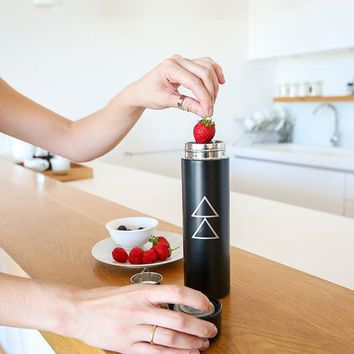 Eco-Friendly Zoto Water Bottle/Fruit Infusion Filter
