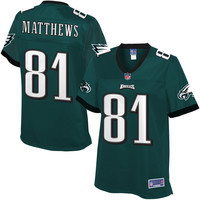 Pro Line Women's Philadelphia Eagles Jordan Matthews Team Color Jersey
