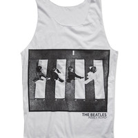 JUST ANOTHER ABBEY Tank Top The Beatles Abbey Road Album Lennon McCartney Harrison Ringo Pop Rock Legend Shirt Size S M