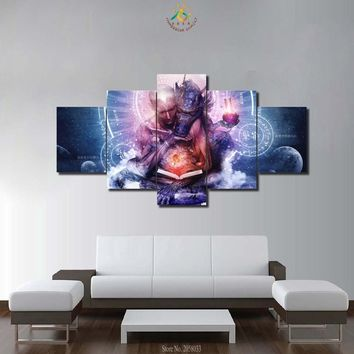 FONT PICTURES MODERN PAINTED CANVAS PAINTINGS HOME DECOR WALL PICTURES