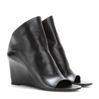 Prism leather mules