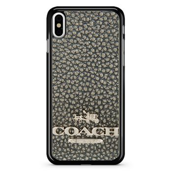 Coach Logo iPhone X Case