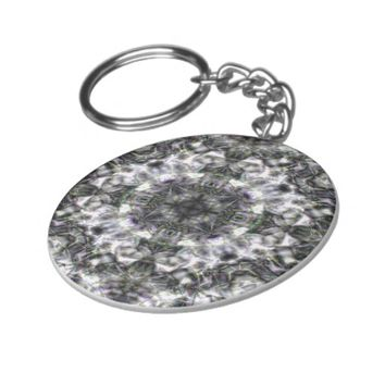 Silver Lace Keychain